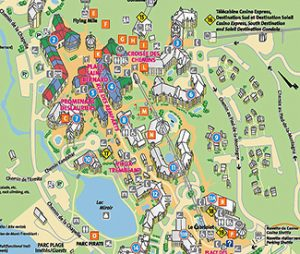 Mont Tremblant maps, maps of Tremblant