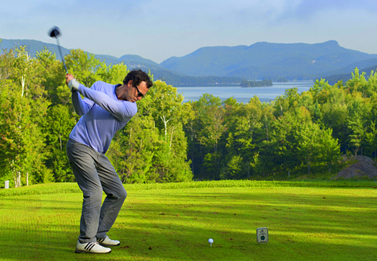 activities in Tremblant, golfing in Tremblant