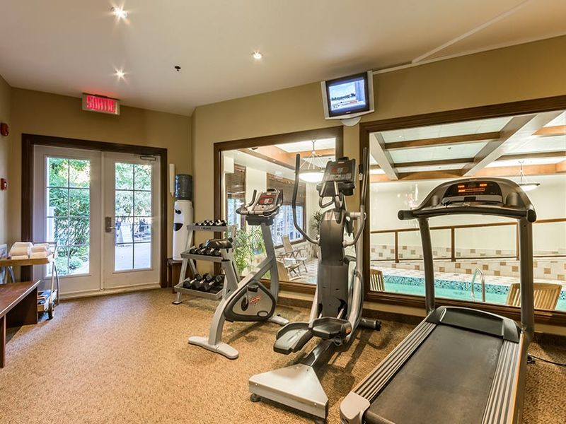 Chateau Beauvallon Tremblant - Fitness Room