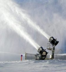 snow guns, making snow, Tremblant