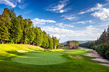 golf course in Tremblant, Le Diable