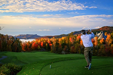 golf course in Tremblant, Le Geant