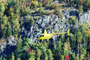 helicopter tours in Mont Tremblant