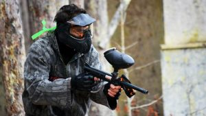 paintball in Mont Tremblant