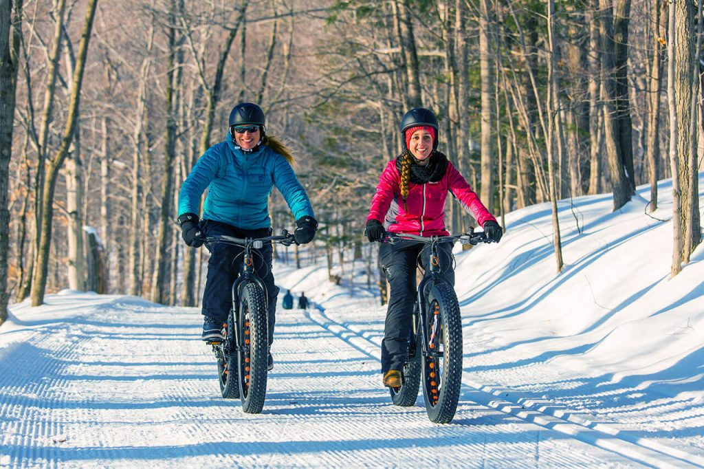winter fat-biking