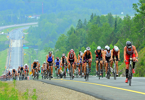 Ironman Mont Tremblant, cycling