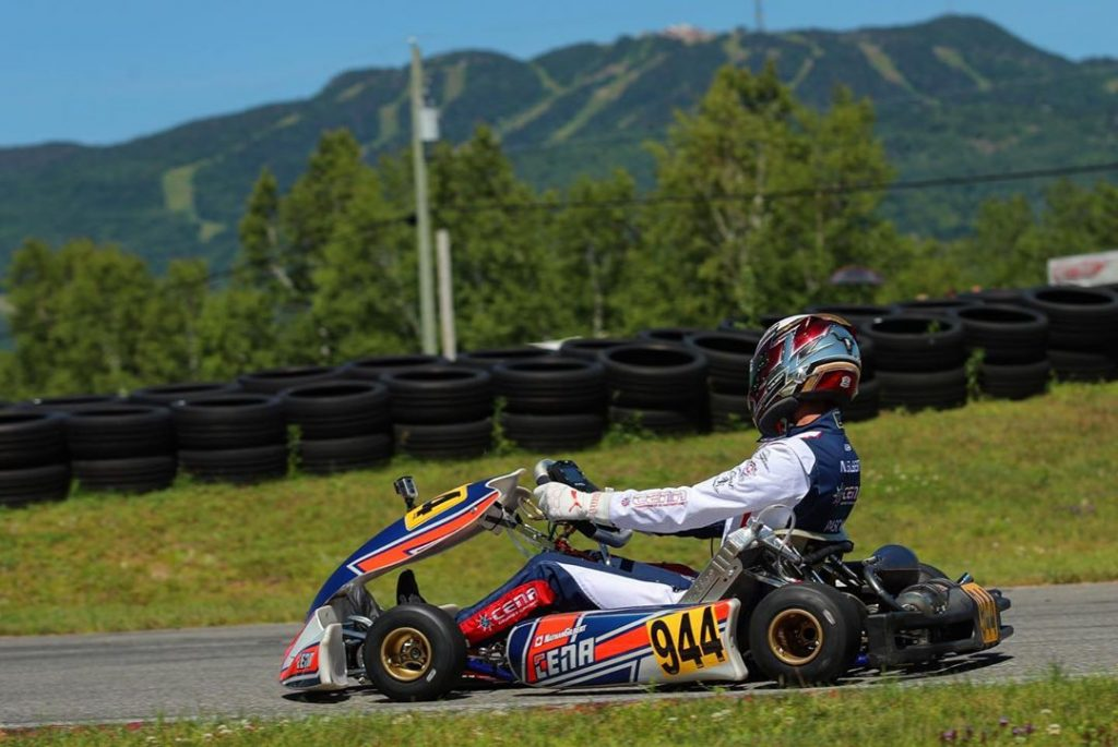 Tremblant activity, karting