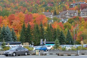 parking in Mont Tremblant