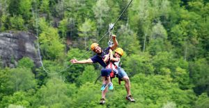 things to do near Tremblant, ziplines