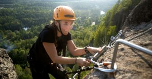things to do near Tremblant, Via Ferrata