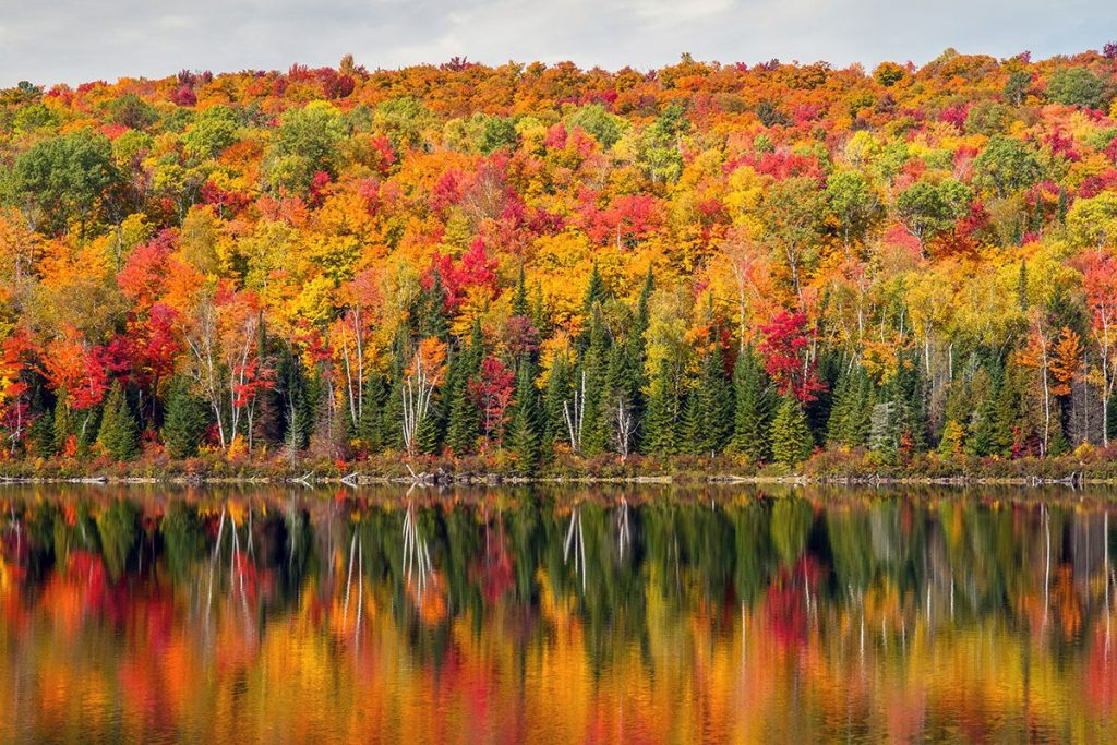 Mont Tremblant fall colors
