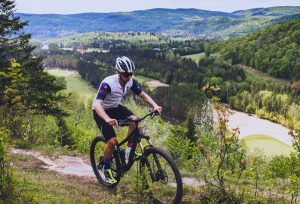 mountain biking Mont Tremblant