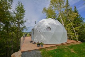 Bel Air Resort dome hotel, Mont Tremblant cottages for rent
