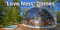 dome lodging Tremblant