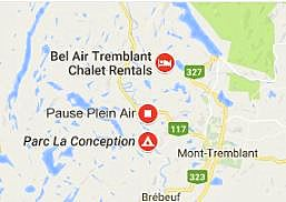 chalet rentals in Mont Tremblant