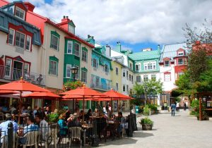 shopping in Mont Tremblant village
