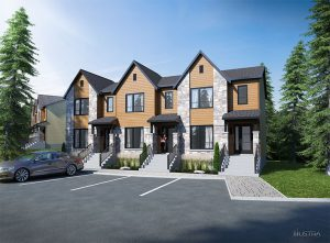 semi-detached homes for sale in Tremblant